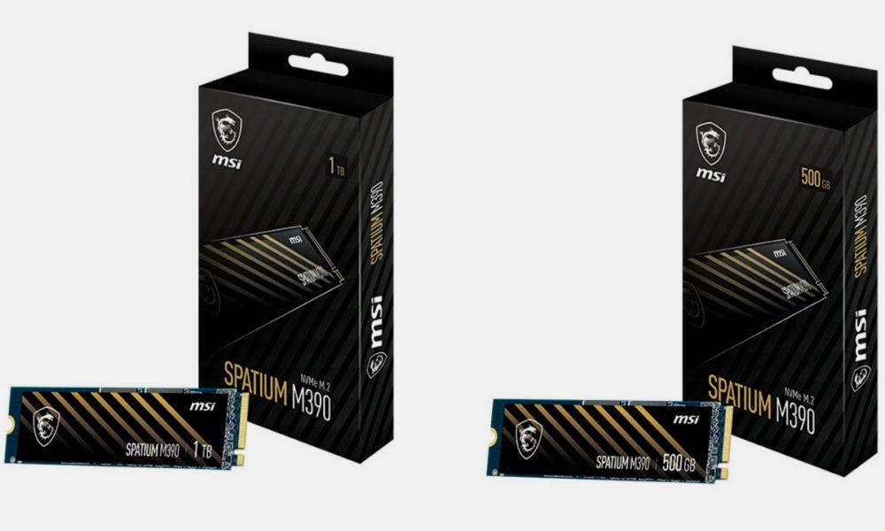 MSI Spatium M390, nueva SSD de rendimiento medio
