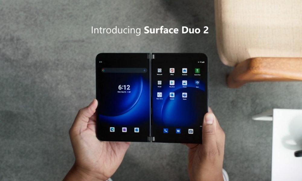 Microsoft presenta oficialmente el Surface Duo 2