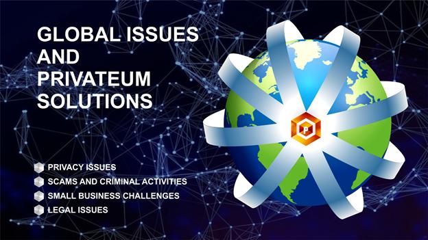 Problemas globales y soluciones Privateum
