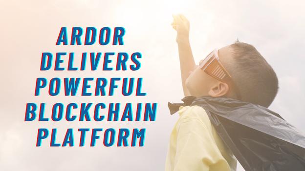 Ardor ofrece una potente plataforma blockchain con un prometedor soporte nativo para NFT