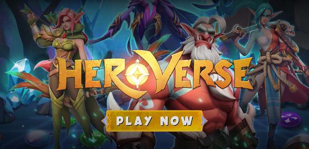 HeroVerse está revolucionando la forma en que la gente juega a los juegos Blockchain