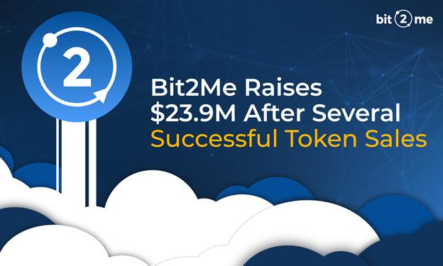 Bit2Me recauda $ 23,9 millones después de varias ventas exitosas de tokens