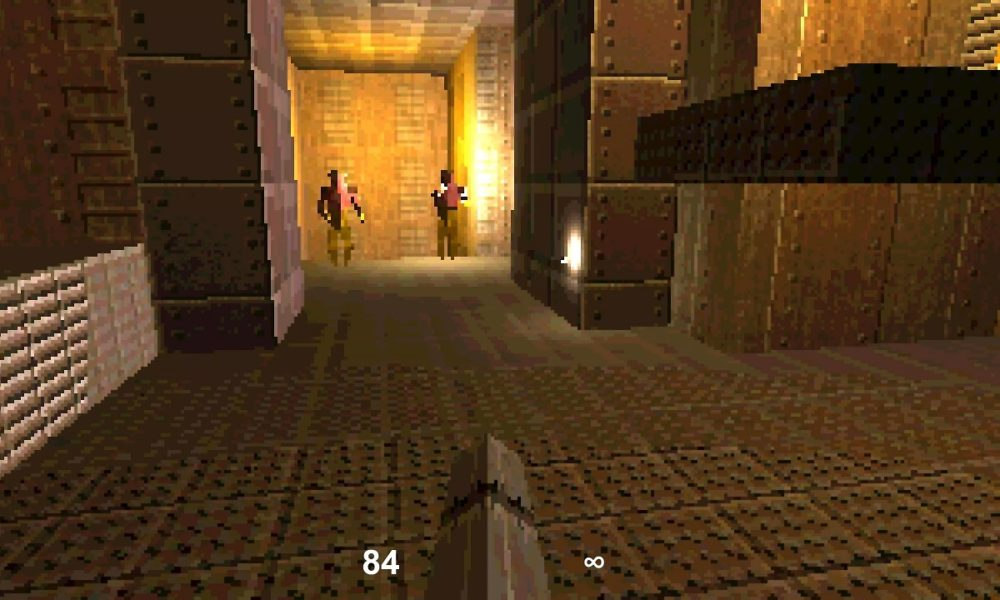 Este clon de Quake pesa 13 KB y se ejecuta en tu navegador