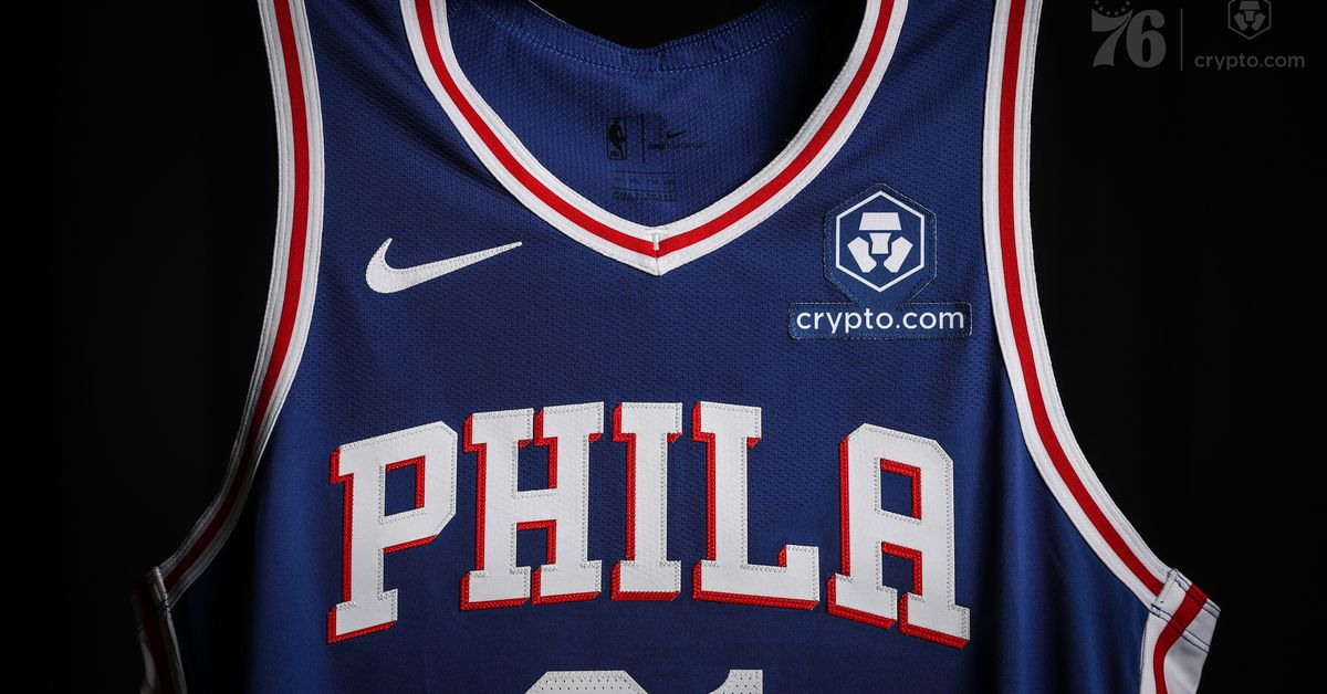 Los 76ers se convierten en el segundo equipo de la NBA en firmar un acuerdo de parche de anuncios criptográficos