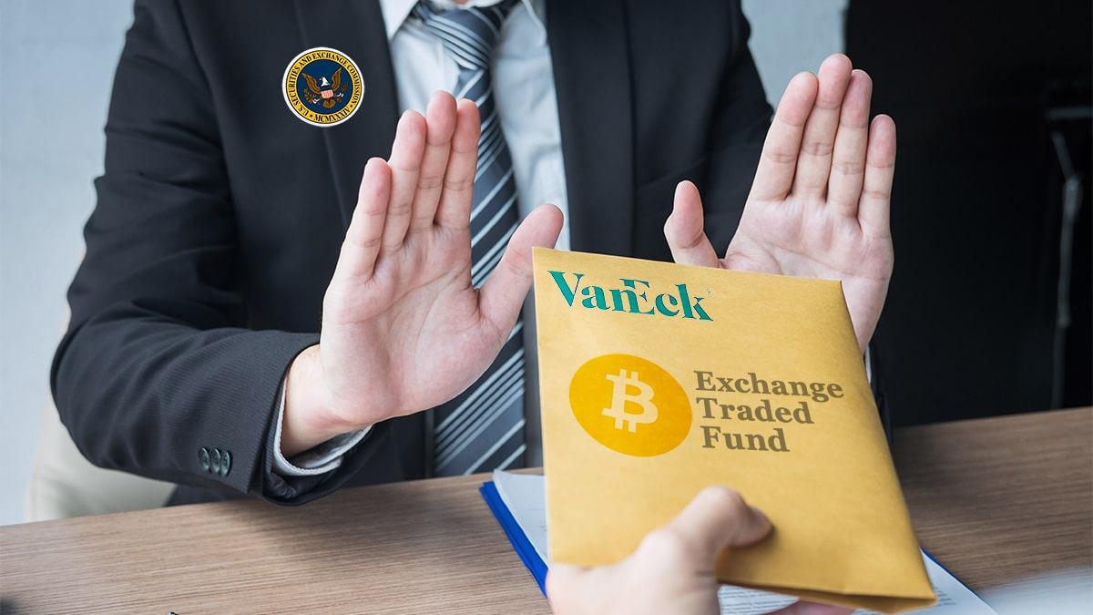 SEC pospone nuevamente decisión sobre solicitud de ETF de bitcoin de VanEck
