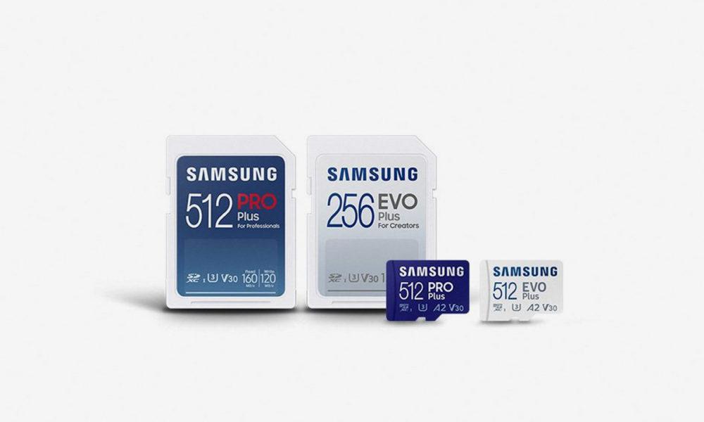 Las nuevas tarjetas SD de Samsung alcanzan los 120 MB/s de escritura