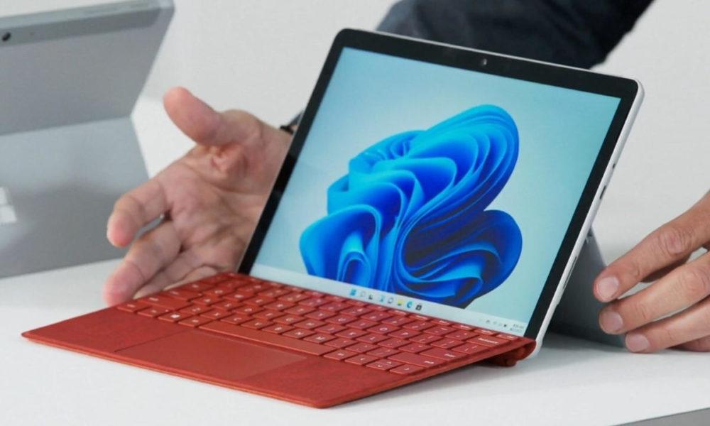 Microsoft presenta Surface Go 3, nuevo tablet con Windows 11