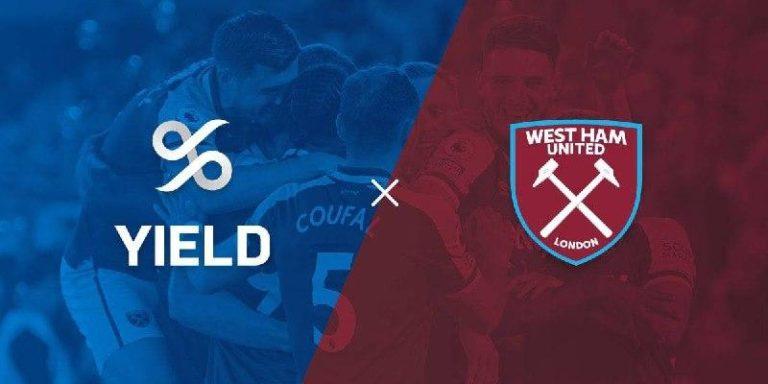 Yield App, socio oficial del club de fútbol de la Premier League West Ham United