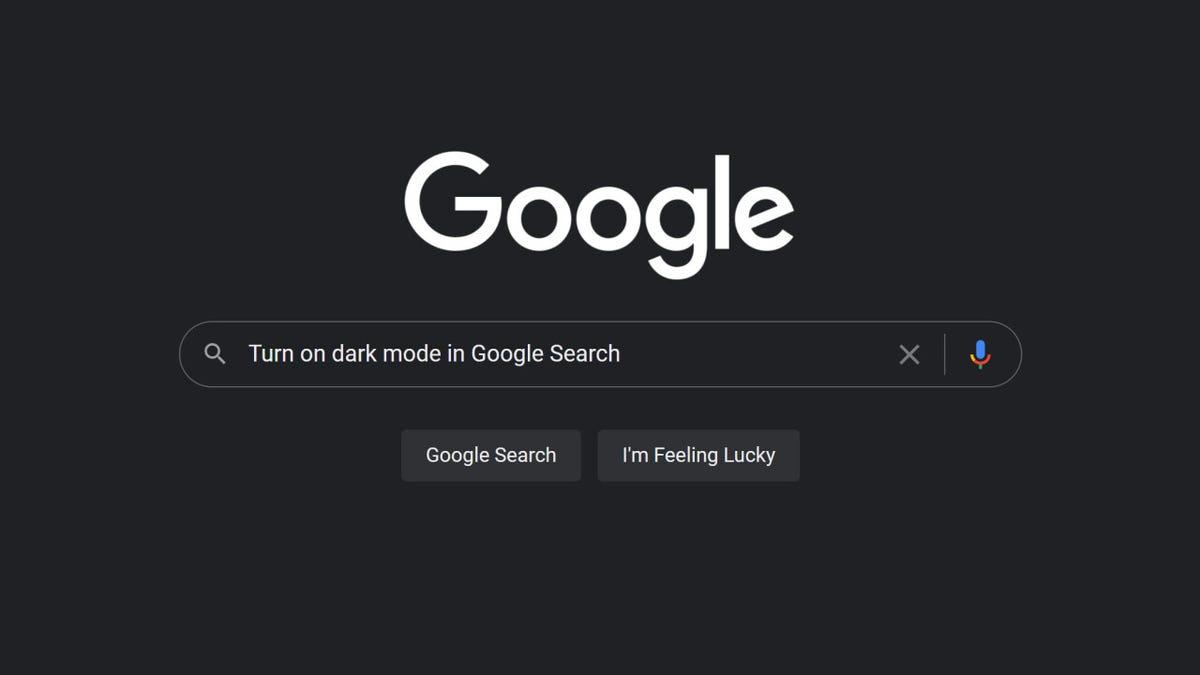 Cómo activar el modo escuro en las búsquedas de Google