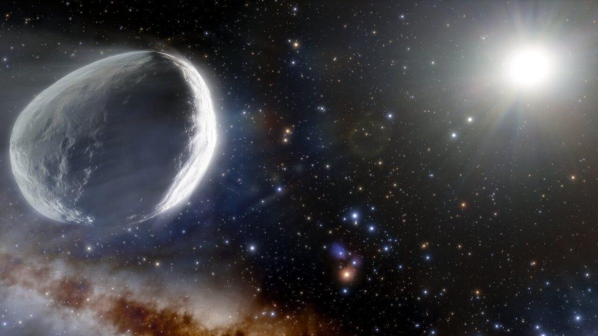 Ya sabemos cuánto mide el cometa Bernardinelli-Bernstein, el más grande de la historia