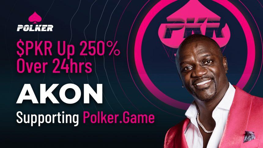 $ PKR hasta 250% en 24 horas mientras Akon grita Polker.