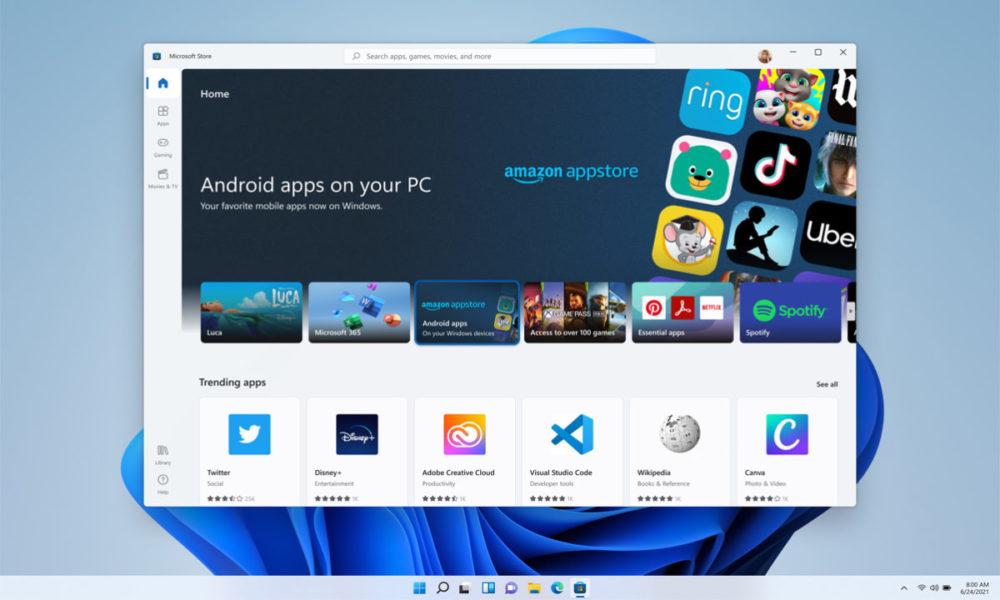 El Android para Windows 11 no estará disponible para empezar