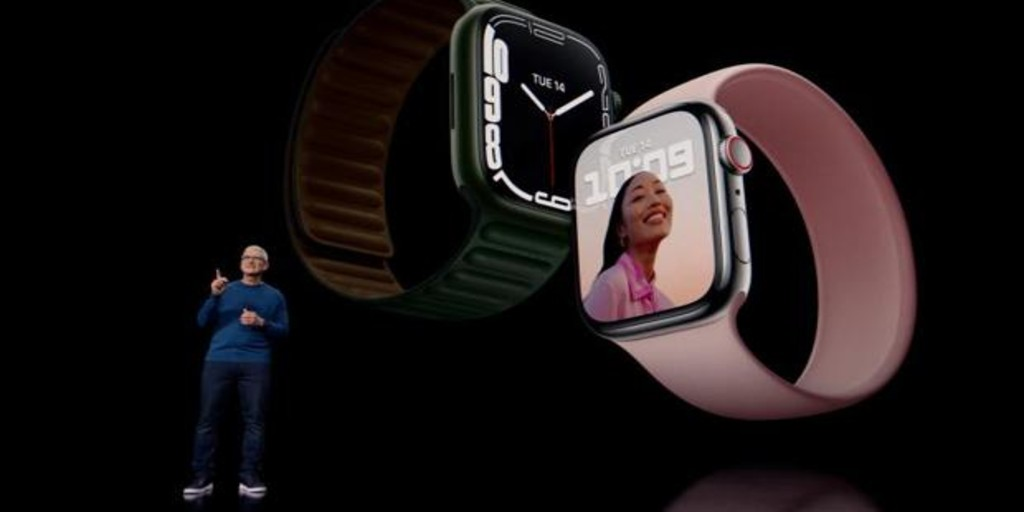 el reloj inteligente más grande que ha fabricado la empresa