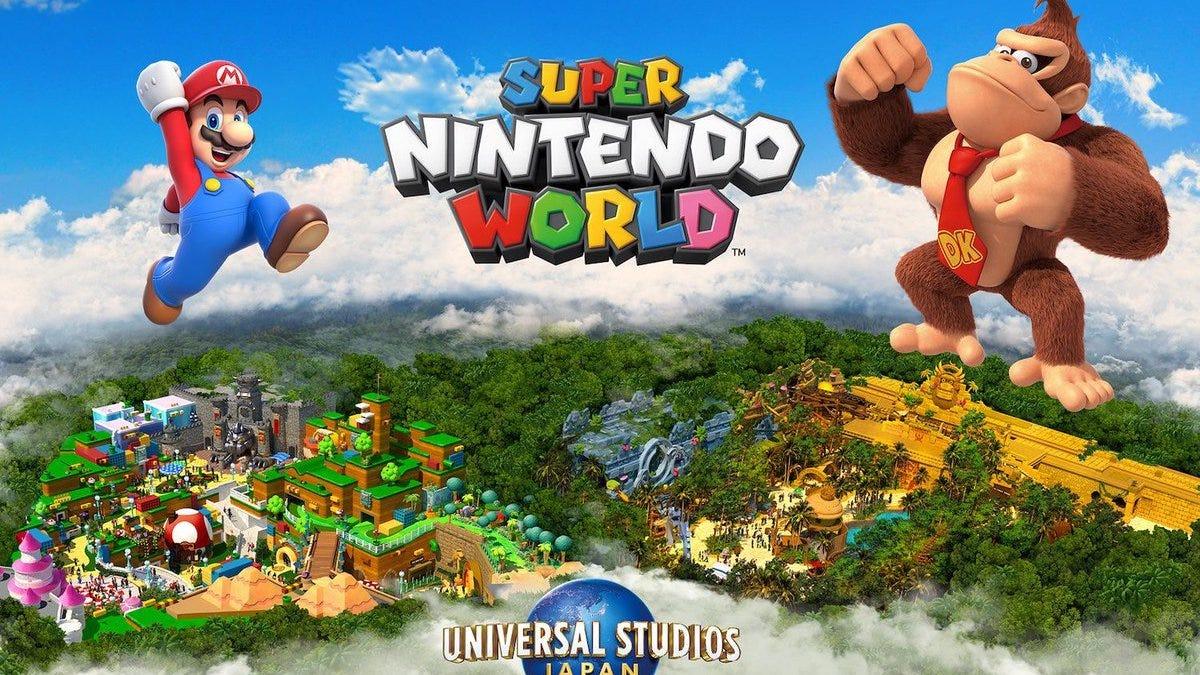 Parque temático de Nintendo tendrá un área de Donkey Kong