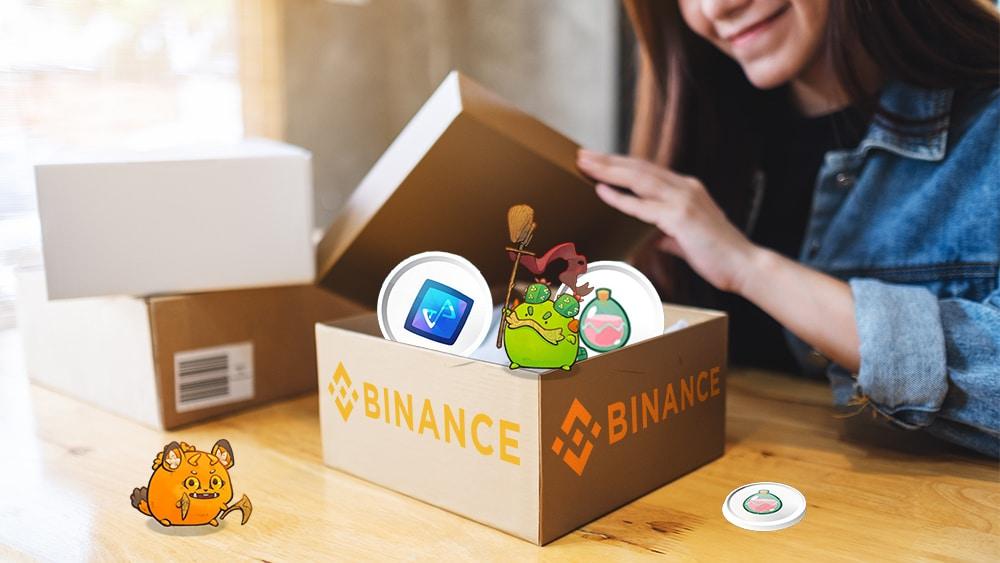 Usuarios de Binance pueden depositar y retirar tokens de Axie Inifnity directo desde Ronin
