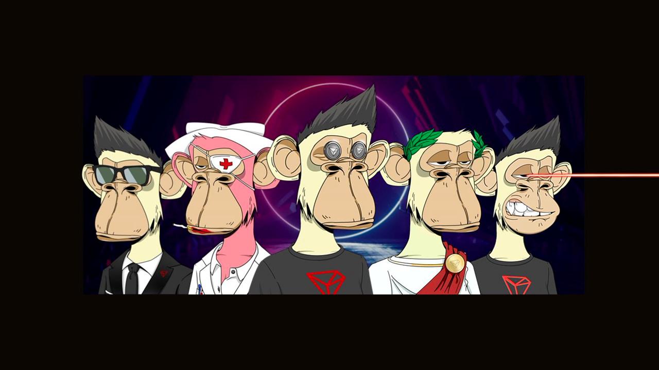 Monos aburridos tomando el mercado de Tron NFT por asalto;  75% vendido en menos de 24 horas