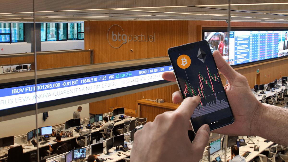 banco de inversión ofrecerá trading de bitcoin y ether a sus clientes