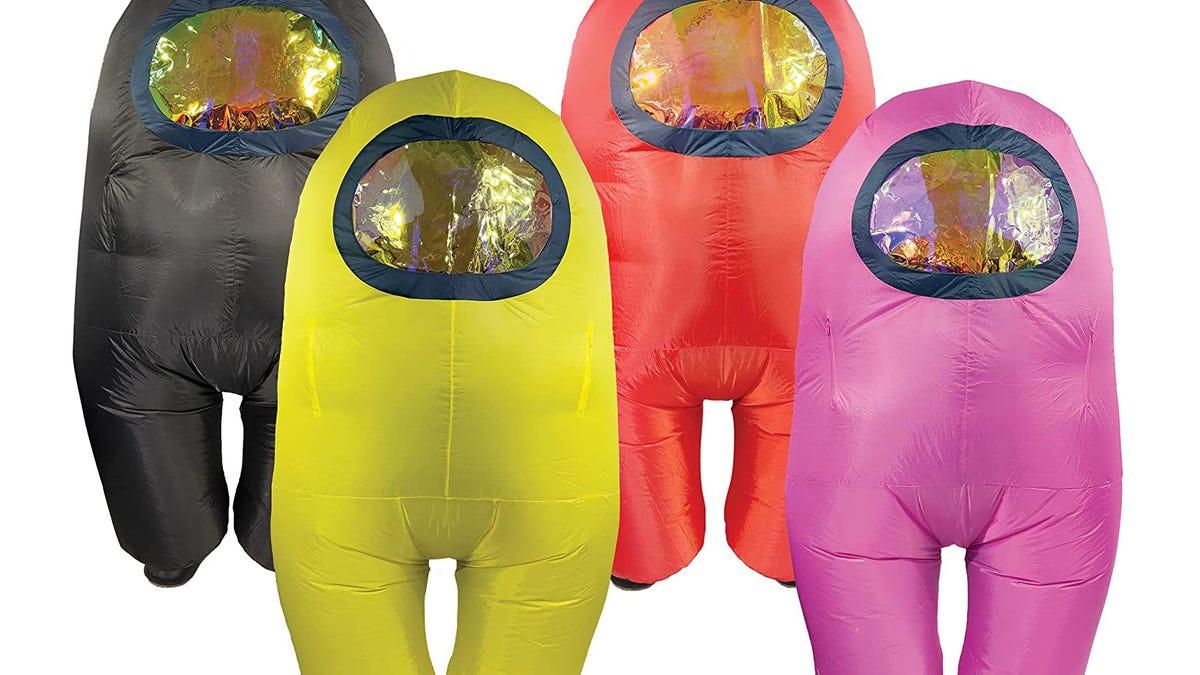 El disfraz de tripulante de Among US que necesitas en Halloween