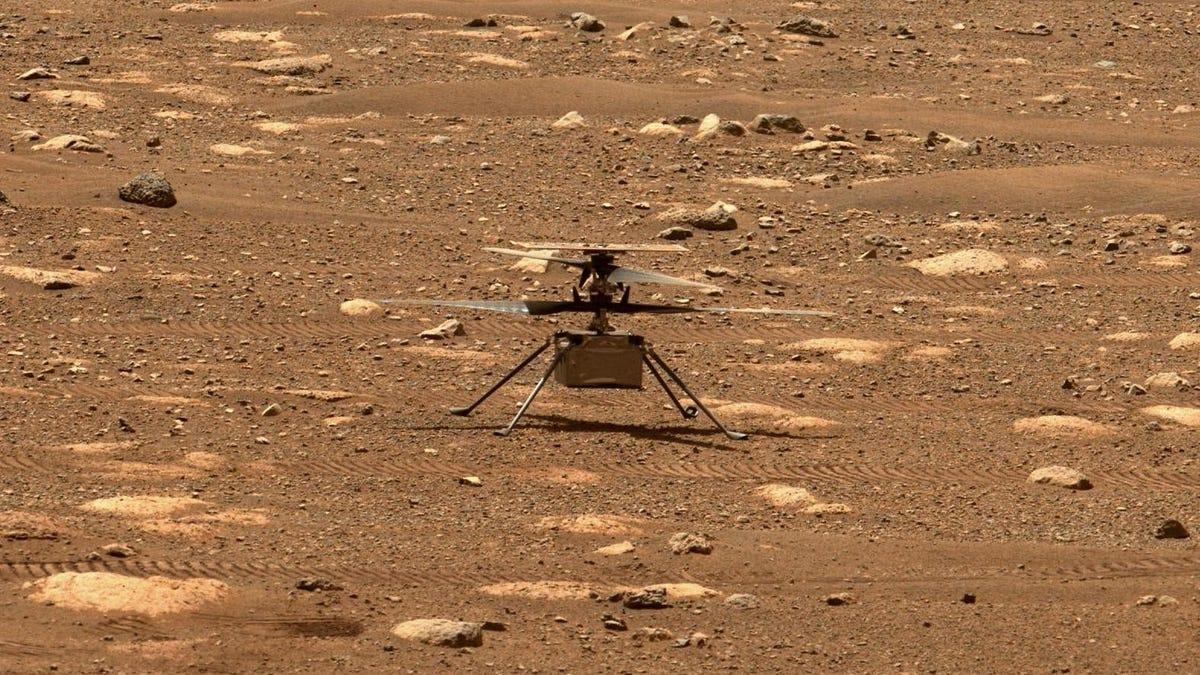 Helicóptero Ingenuity tuvo anomalía en Marte antes de conjunción solar