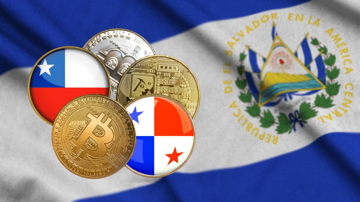 curso legal en El Salvador y proyectos de ley en Chile y Panamá