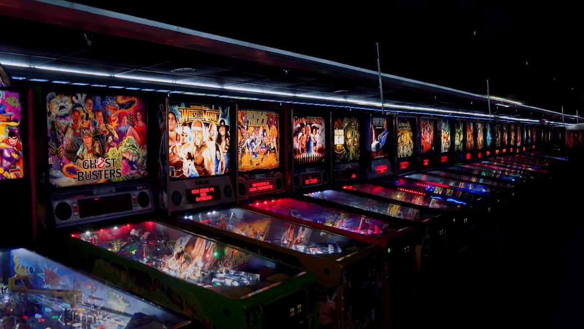 1.300 máquinas de Pinball y recreativas a subasta