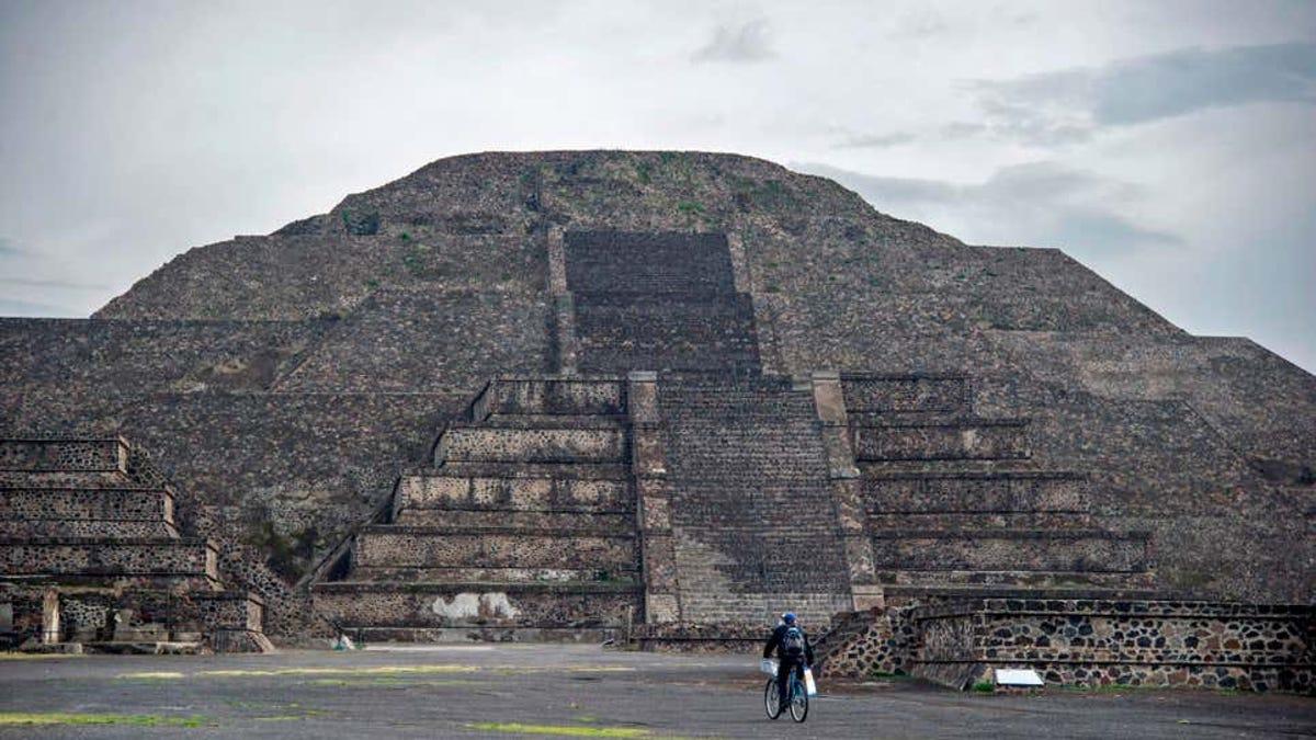 Estudian la antigua Teotihuacán con tecnología de mapeo aéreo