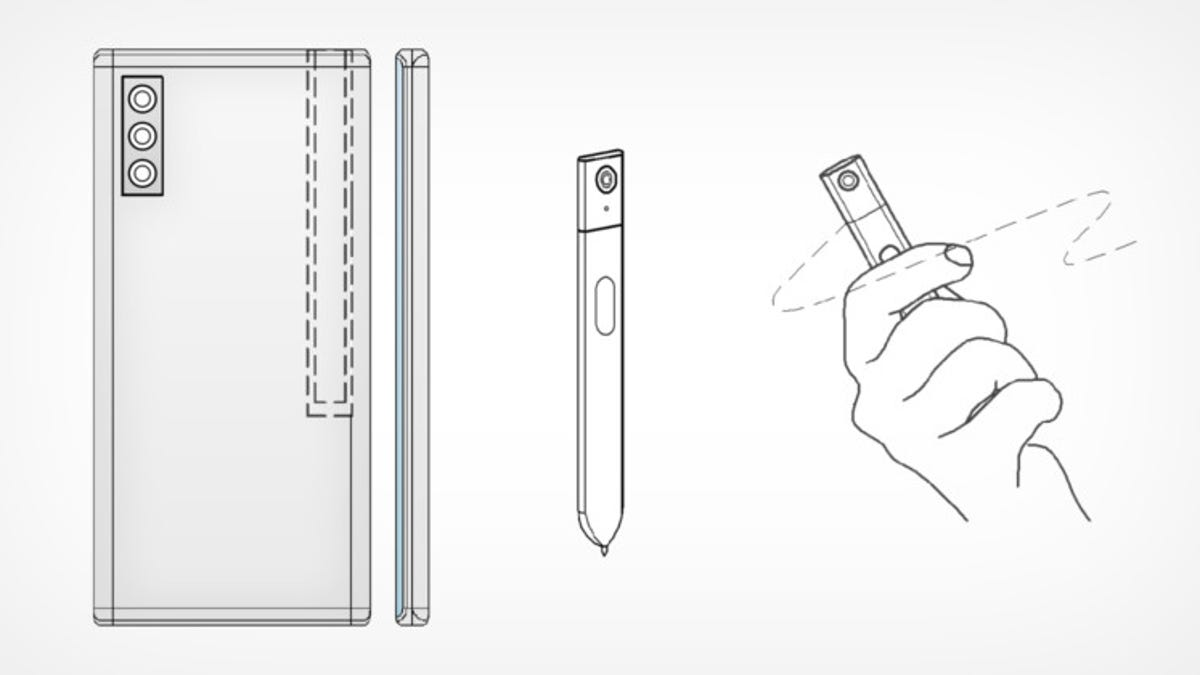 Samsung patenta un S Pen con cámara integrada