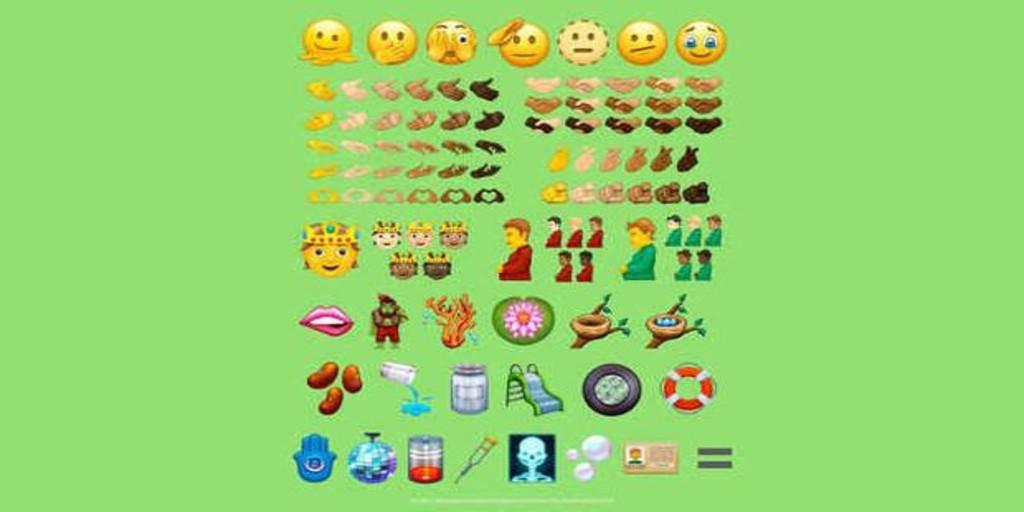 los nuevos 'emojis' que están a punto de llegar a WhatsApp