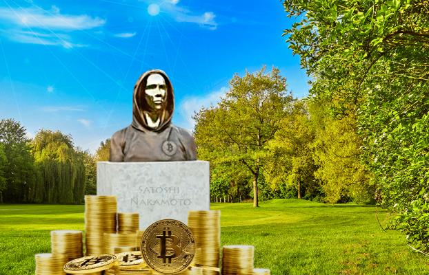 Satoshi Nakamoto y Bitcoin ya tienen una estatua en homenaje