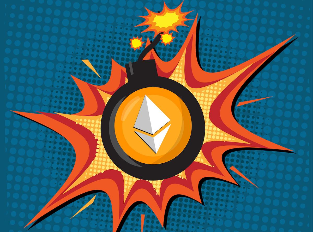 Criptoanalista dice que el mercado de Ethereum es una «bomba de tiempo», aquí está el por qué