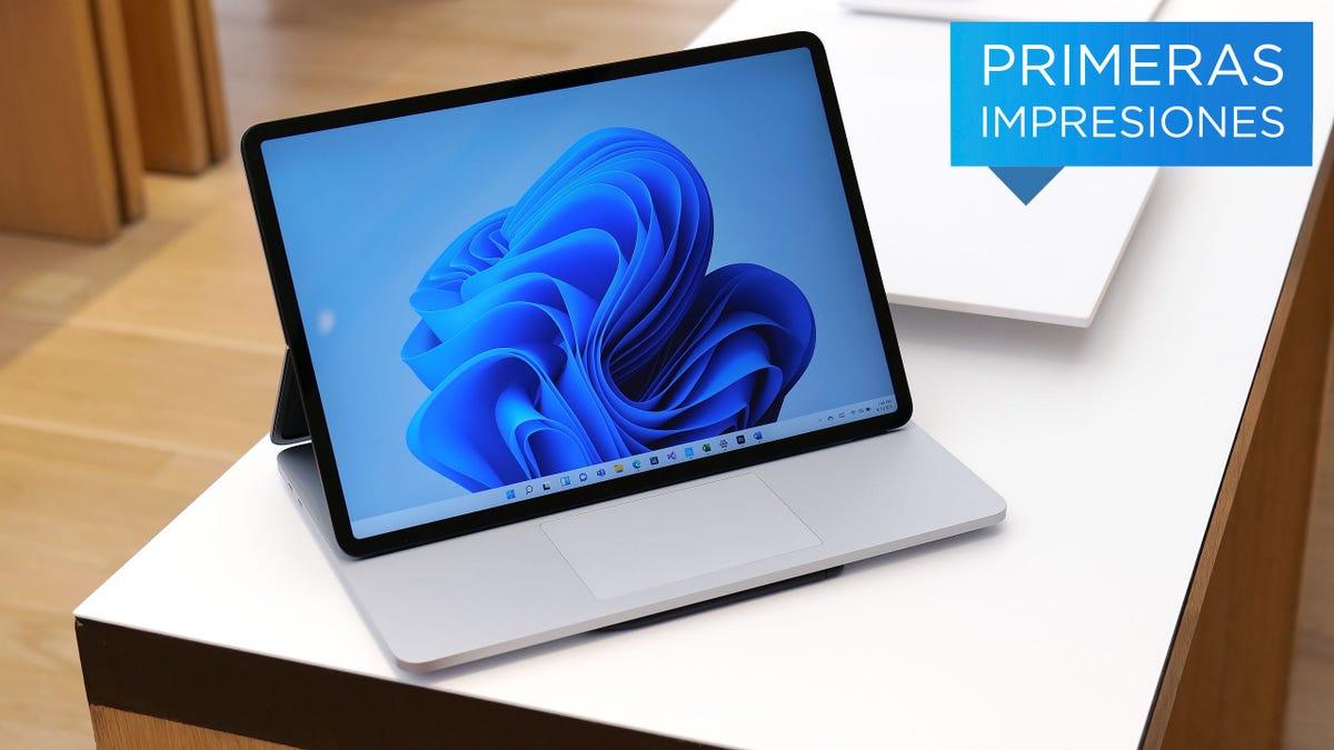 La nueva Surface Laptop Studio es la computadora portátil más potente y versátil de Microsoft
