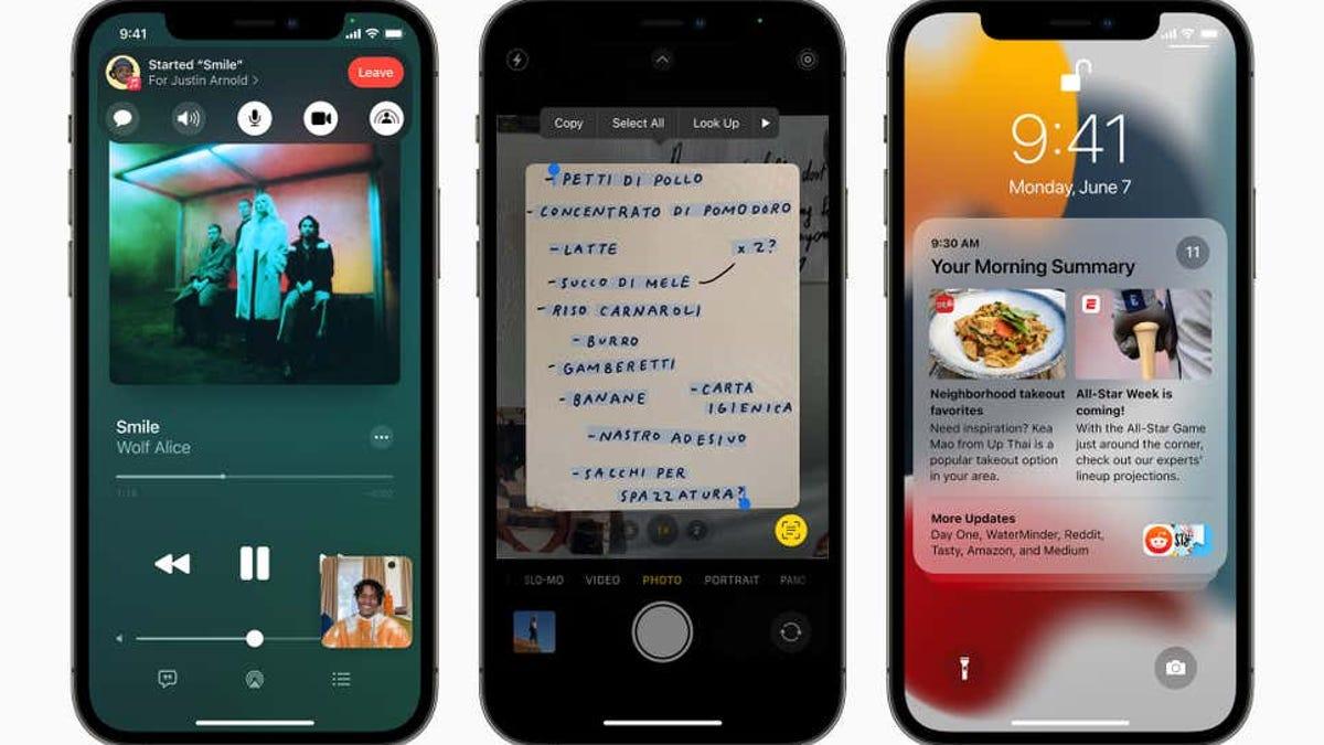 iOS15 llega a todos los usuarios el 20 de septiembre