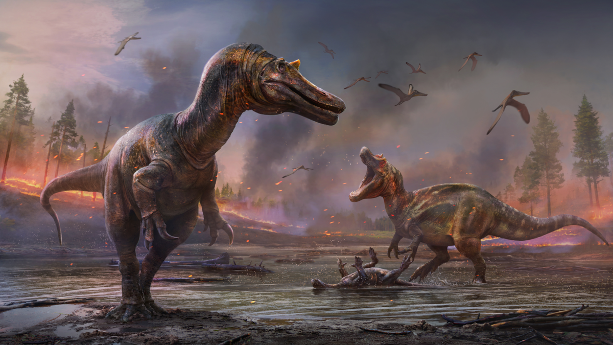 Descubren dos nuevos dinosaurios carnívoros en la Isla de Wight