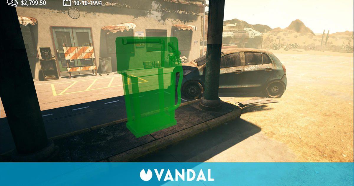 Gas Station Simulator es el nuevo e inesperado éxito de Steam
