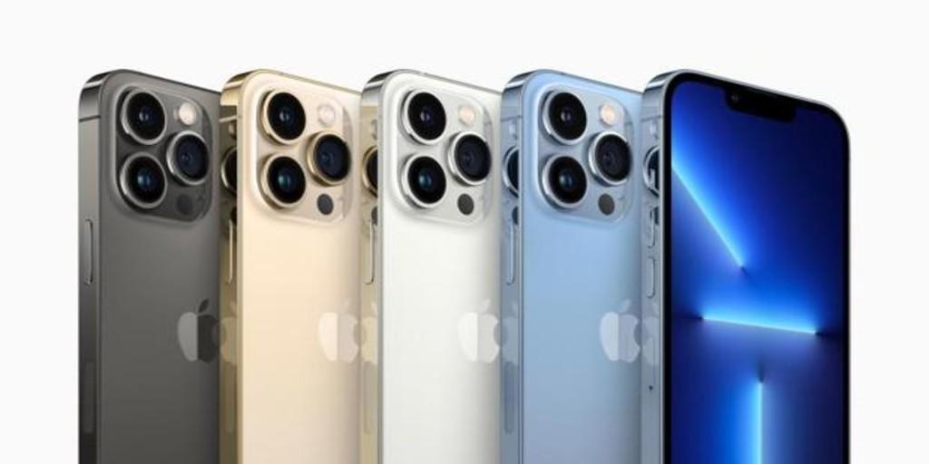 así son todos los 'smartphones' que ha presentado Apple