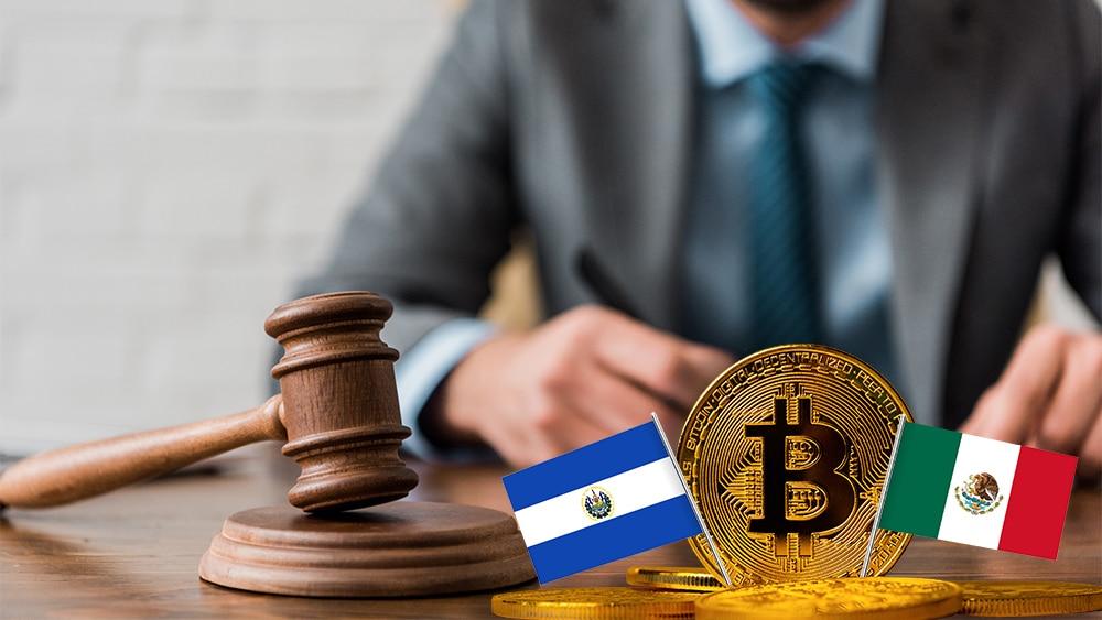 preparativos para Ley Bitcoin de El Salvador y alertas en México