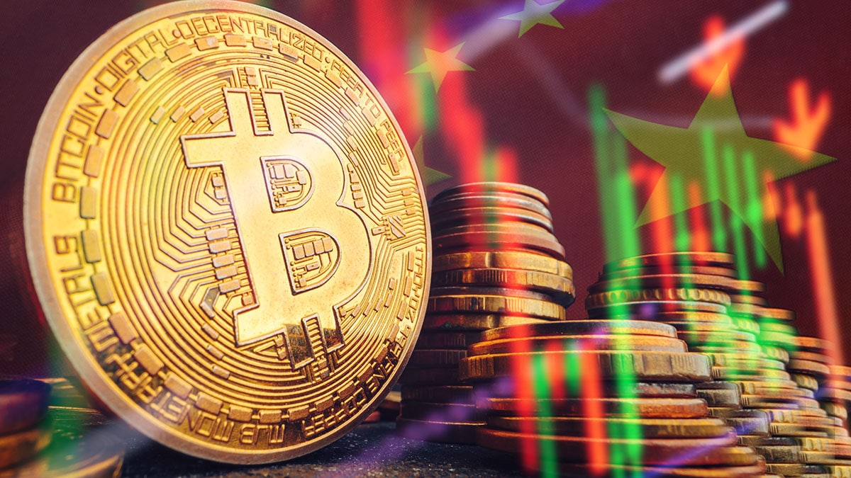 China hace retroceder a bitcoin, aunque manos fuertes siguen acumulando
