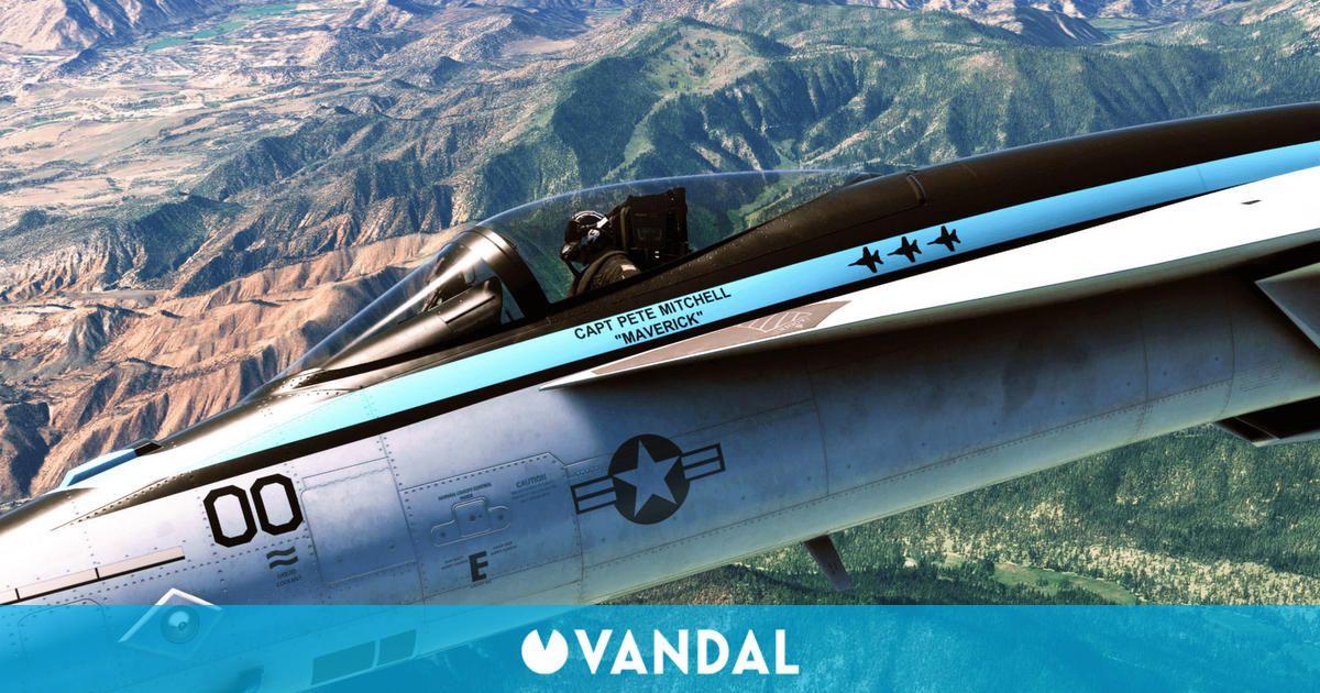 Microsoft Flight Simulator retrasa su expansión de Top Gun: Maverick a 2022