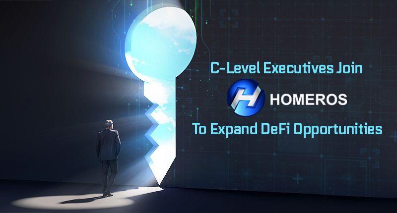 Ejecutivos de nivel C se unen a Homeros para expandir las oportunidades de DeFi