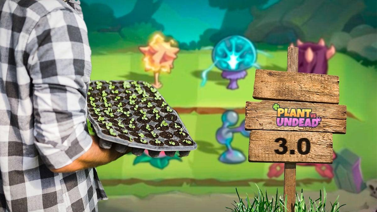 Plant vs Undead adelanta detalles de lo que será el Farm 3.0