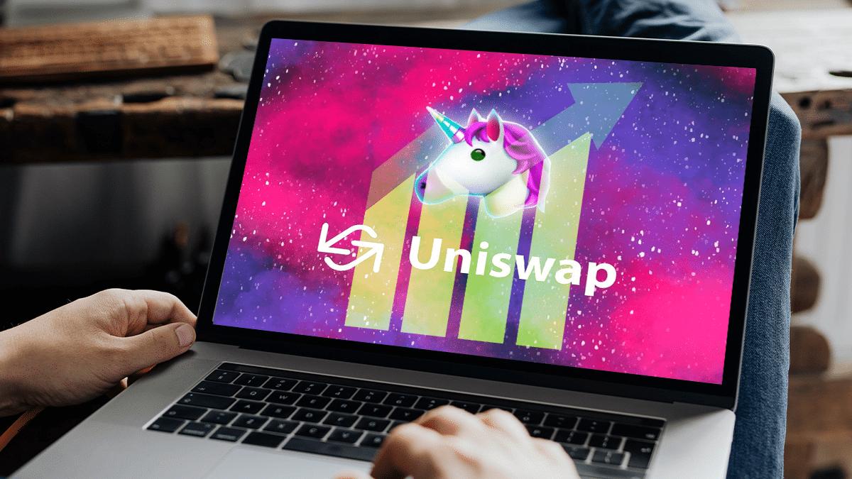Uniswap está lejos de su máximo de transacciones, pero sigue como líder entre las DeFi