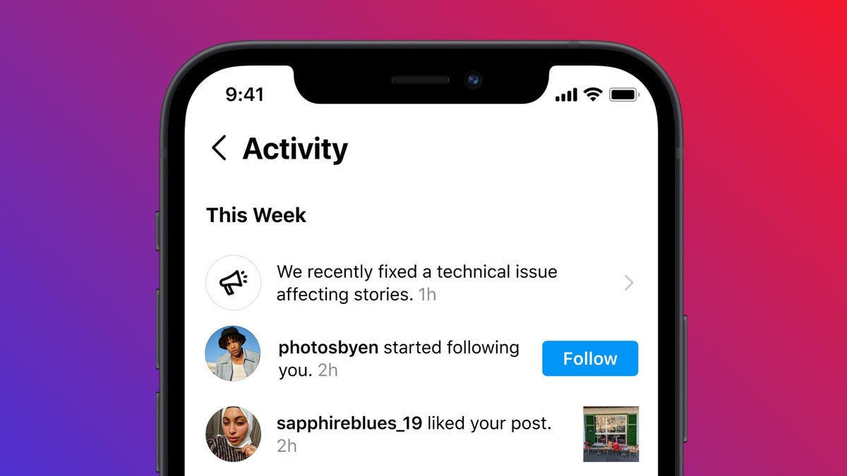 Ahora Instagram te dirá si se ha caído Instagram