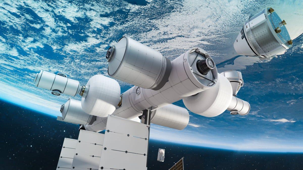 Blue Origin anuncia planes de crear su propia estación espacial