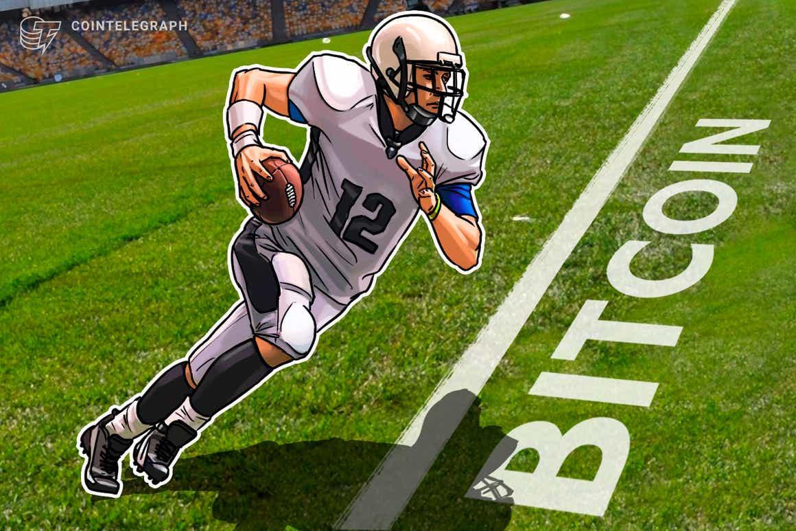 El quarterback de la NFL Tom Brady le da a un fan 1 BTC para recuperar el balón de su touchdown número 600