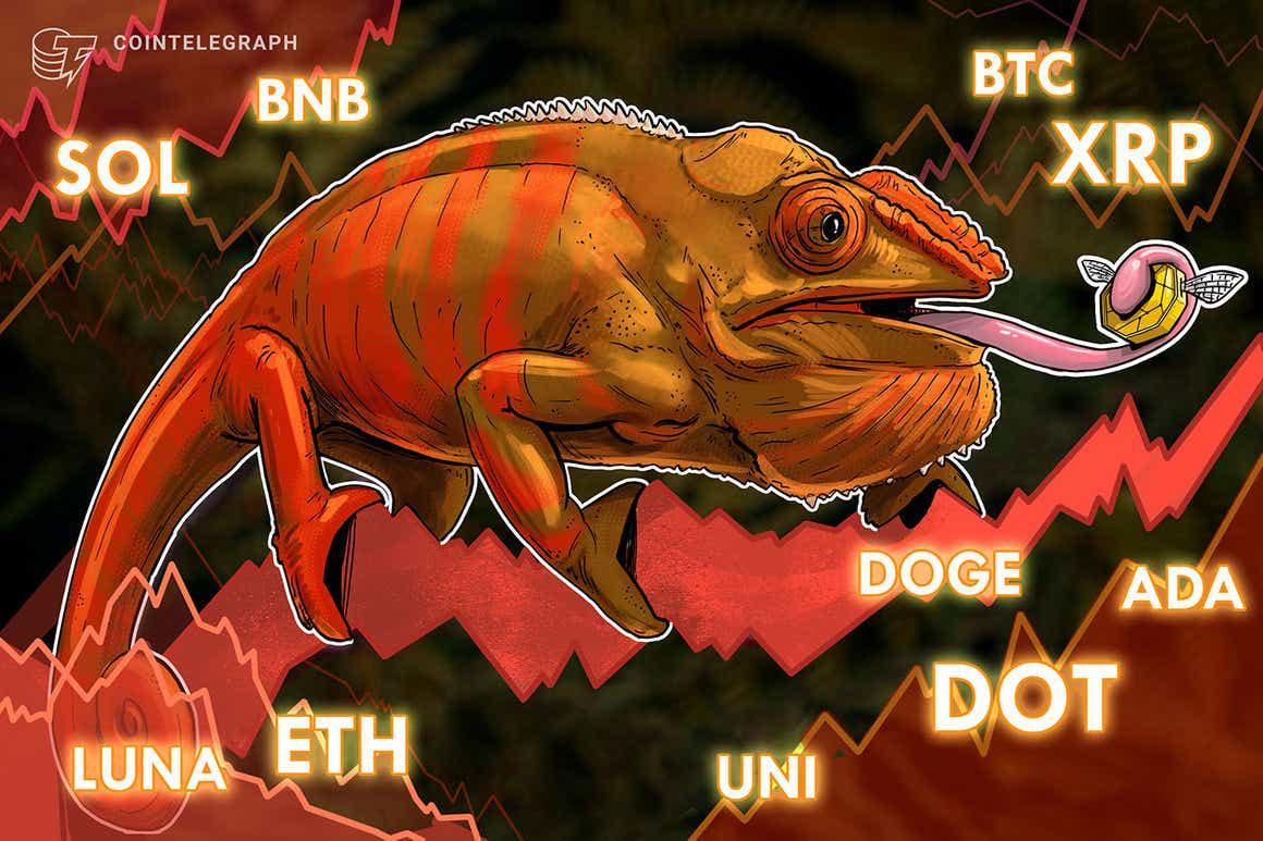 Análisis de precios del 22 de octubre: BTC, ETH, BNB, ADA, XRP, SOL, DOT, DOGE, LUNA, UNI