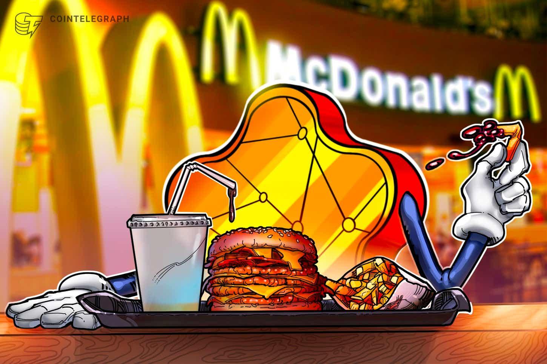 McDonald's China regalará 188 NFT en su 31º aniversario