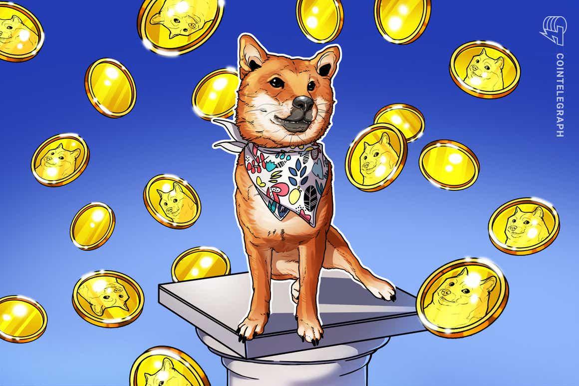 El fractal gráfico de Dogecoin pone en peligro el rally trimestral de 390% de Shiba Inu