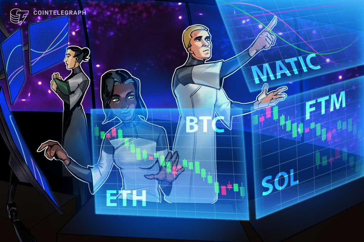 Las 5 principales criptomonedas a tener en cuenta esta semana: BTC, ETH, SOL, MATIC, FTM