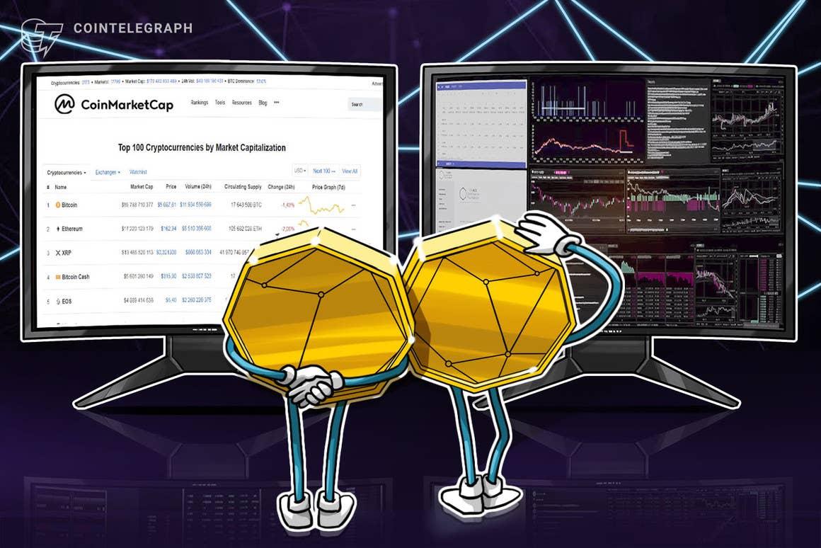 CoinMarketCap integrará sus datos sobre el precio de las criptomonedas en Presearch