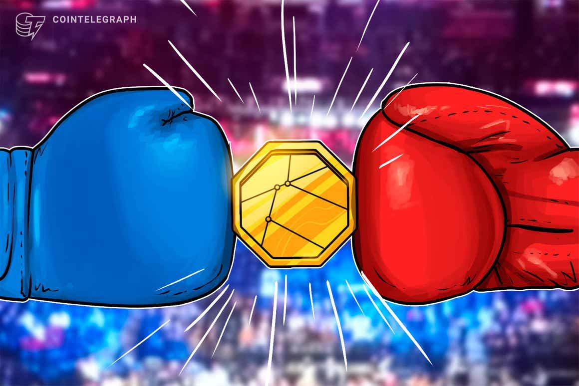 Traders de criptomonedas luchan en WBS Dubai en un combate de boxeo benéfico de Amir Khan